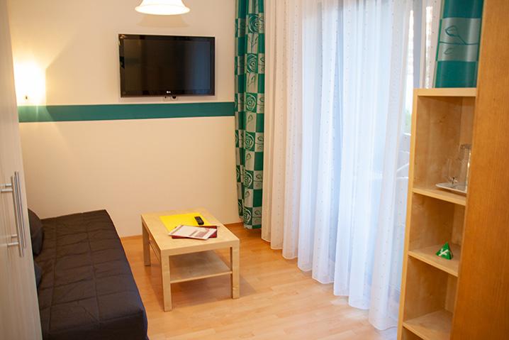Familienzimmer im Hotel Zlami-Holzer mit Balkon