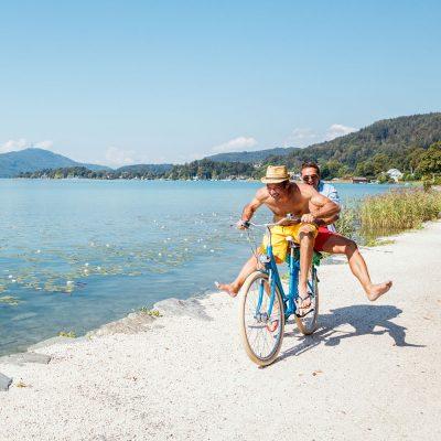Radfahren in Klagenfurt am Wörthersee