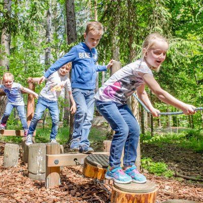 Kinderspaß in der Walderlebniswelt in St. Kanzian am Klopeinersee