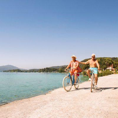 Radfahren Seeschleife Kärnten
