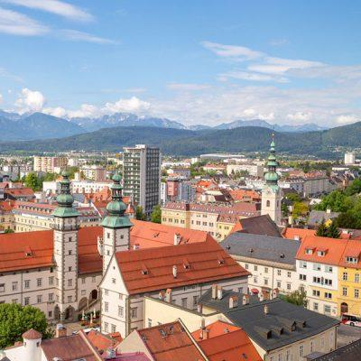 Panorama Klagenfurt am Wörthersee