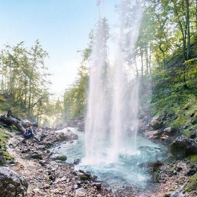 Wildensteiner Wasserfall in Kärnten